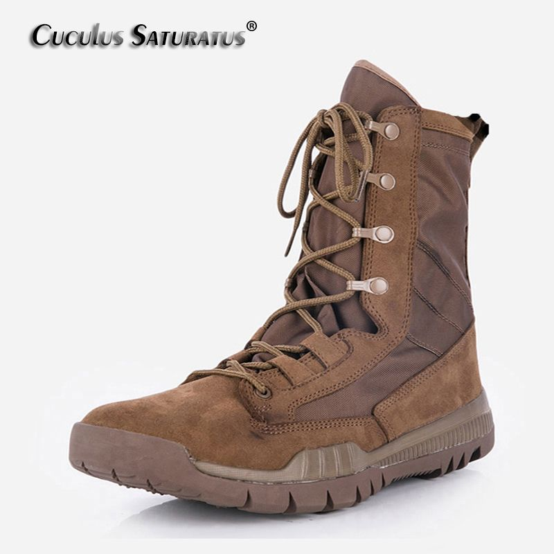 Cuculus outdoor climbing hiking boots waterproof men boot new style outdoor mountain trekking hiking shoes ZD144L