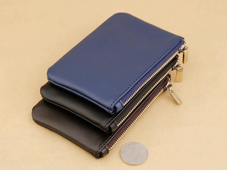 Hot selling Emarald new fashion genuine leather coin purse with dust bag and box free shipping