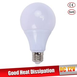 Lâmpadas LED bulbo E27 DC 12 V luzes LED Lampada LEVOU Inteligente IC Verdadeiro Poder Refletor Led bombillas LED 3 W 5 W 7 W 9 W 12 W 15 W branco