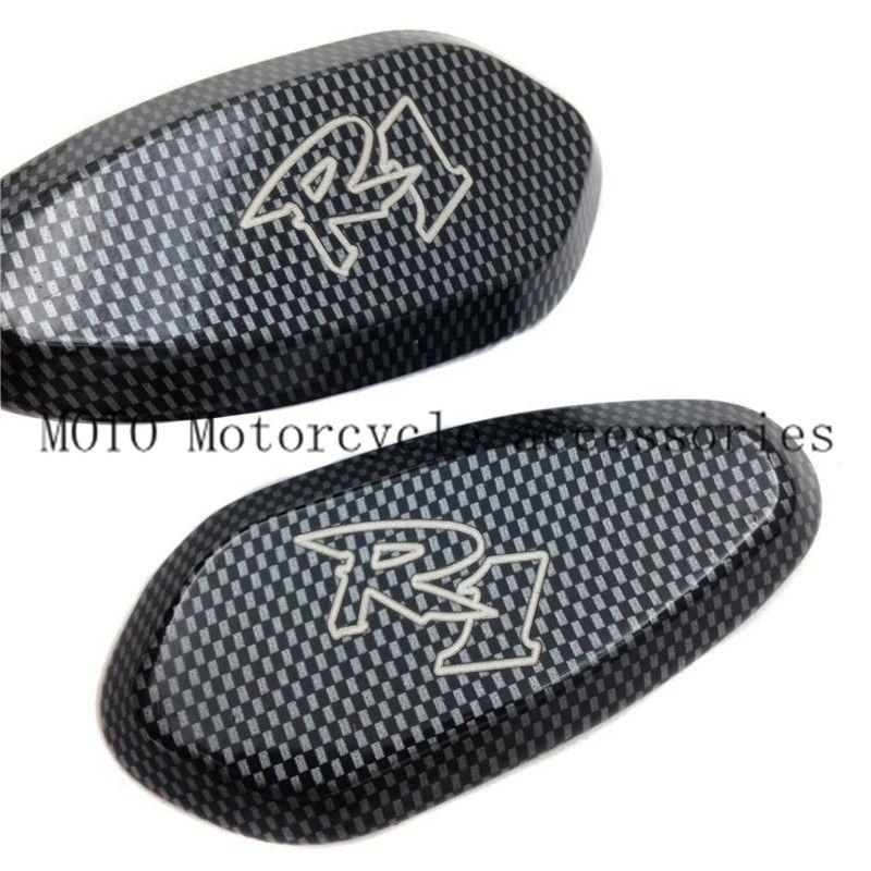 Motorcycle Mirrors Block Off Base Plates Mirror Base Plates Aluminum for YZF-R1 YZF R1 2000 2001 2002 2003 04 05 06 07 2008