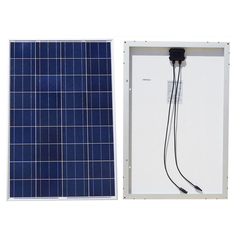200/400/600 watt Solar Panel Kit: 2/4/6*100 W Poly Solar Panels Erweiterte RV Solar ladegerät für 12 v batterie Off grid Solar System hause