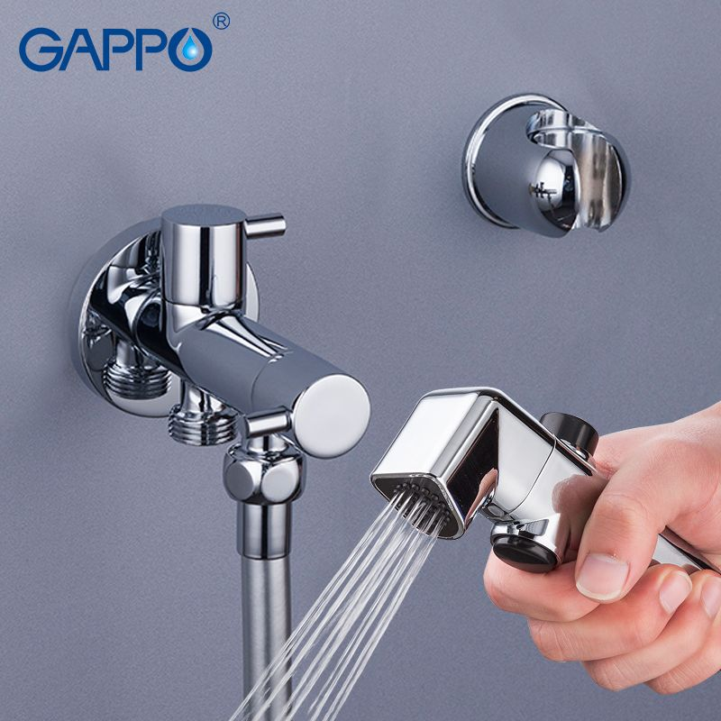 GAPPO Bidets musulman douche toilette pulvérisateur robinet toilette douche bidet mural douche à main