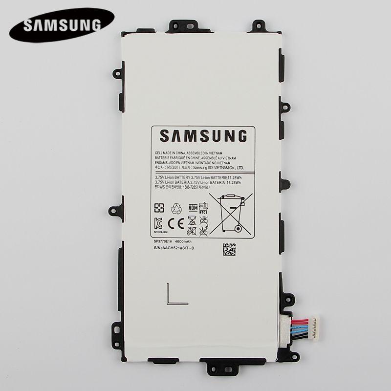 100% D'origine Tablet Batterie SP3770E1H Pour Samsung N5100 N5120 Galaxy Note 8.0 N5110 Véritable Remplacement Batteries 4600 mAh