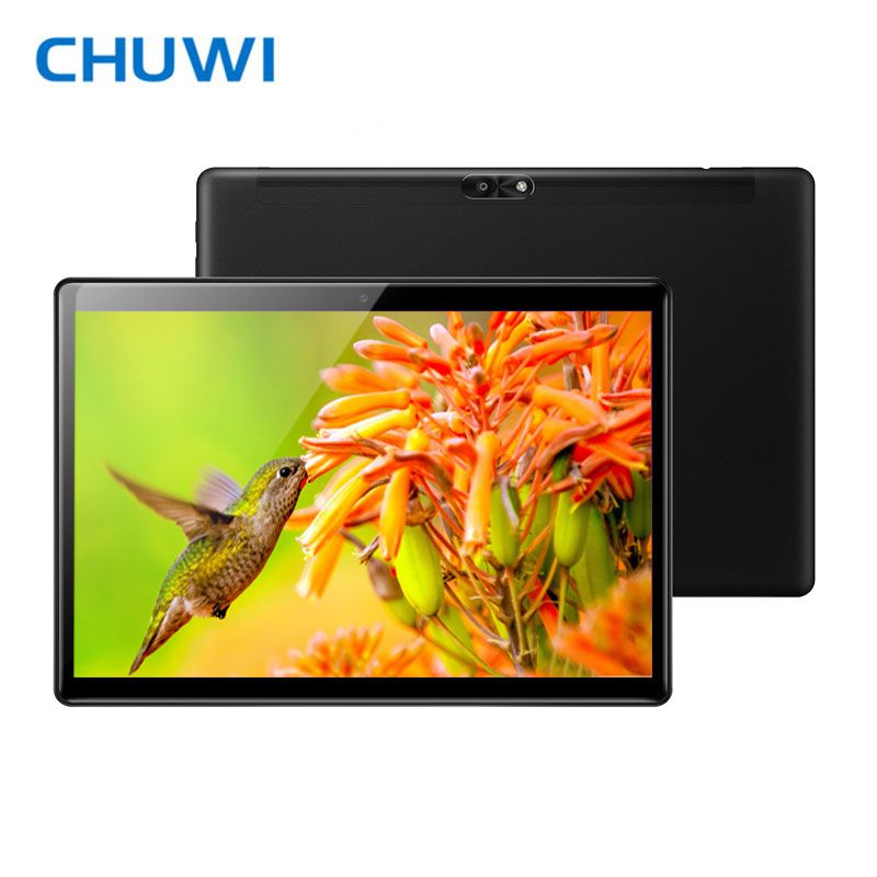 CHUWI 10.1 Inch Android 8.0 Tablet Deca Core MT6797 X20 4GB RAM 64GB ROM 2K Screen Dual 4G LTE 2.4G/5G Wifi Hi9 Air Tablet PC