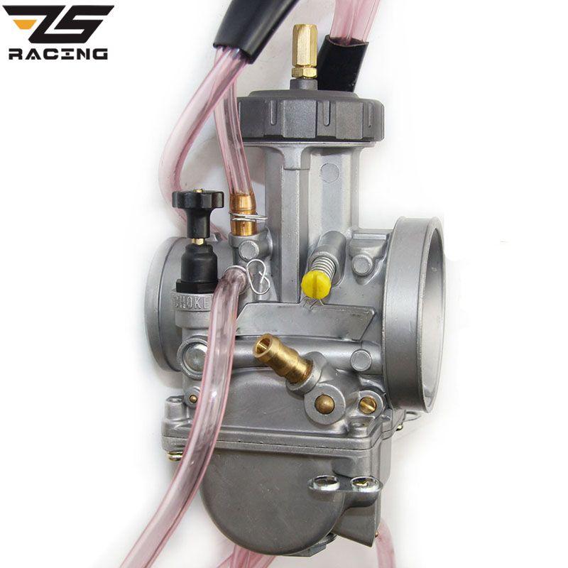 Carburateur moto ZS Racing haute qualité 33 34 35 36 38 40 42mm Keihi PWK Carburador pour tous les motos ATV 250cc plus grandes