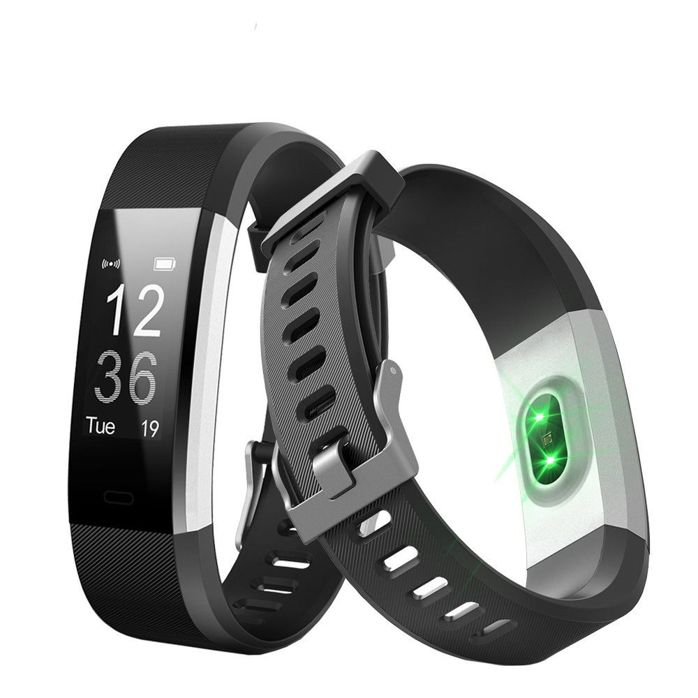 ID115 HR PLUS Smart-Armband Sport Herzfrequenz Smart Band Fitness Tracker Smart Armband Smart Uhr für IOS AndroidI D115HR