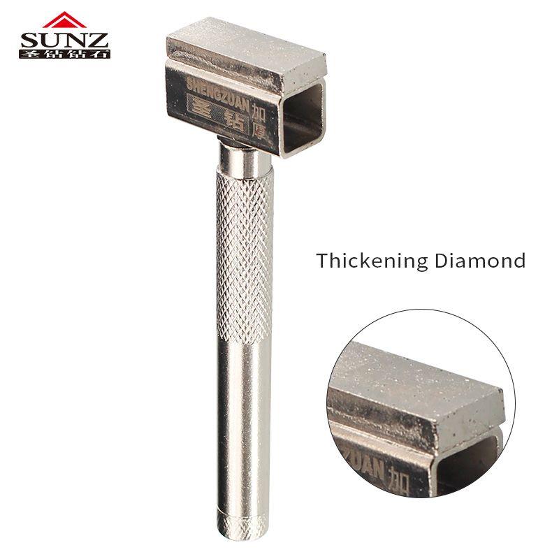 1pc diamant meule commode épaississement meulage couche métal meuleuse pierre meulage Dressing outil
