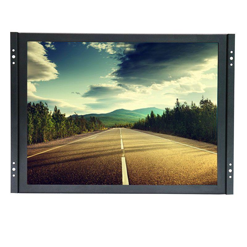 15 zoll touchscreen-monitor 1024*768 kapazitiven touchscreen kit für lcd-monitor mit AV/BNC/VGA/usb-schnittstelle