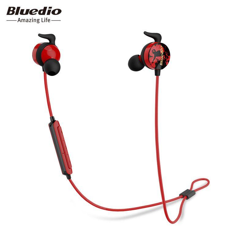 Bluedio AI Sports Bluetooth headset/Wireless earphone in-ear earbuds Built-in Mic Sweat proof good bass earbud