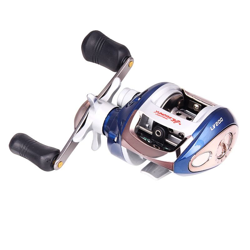 High Speed Baitcasting Fishing Reel 12+1BB 6.3:1 Right or Left hand Lure Fish Wheel Magnetic brake Water Drop Wheel Coil XQ-02