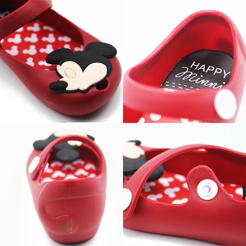 Melissa 2018 Mini Mickey & Minnie Gelee Schuhe Jungen Mädchen sandalen Weichen Komfort Kleinkind Baby Mädchen Sandalen Badesandalen für kinder