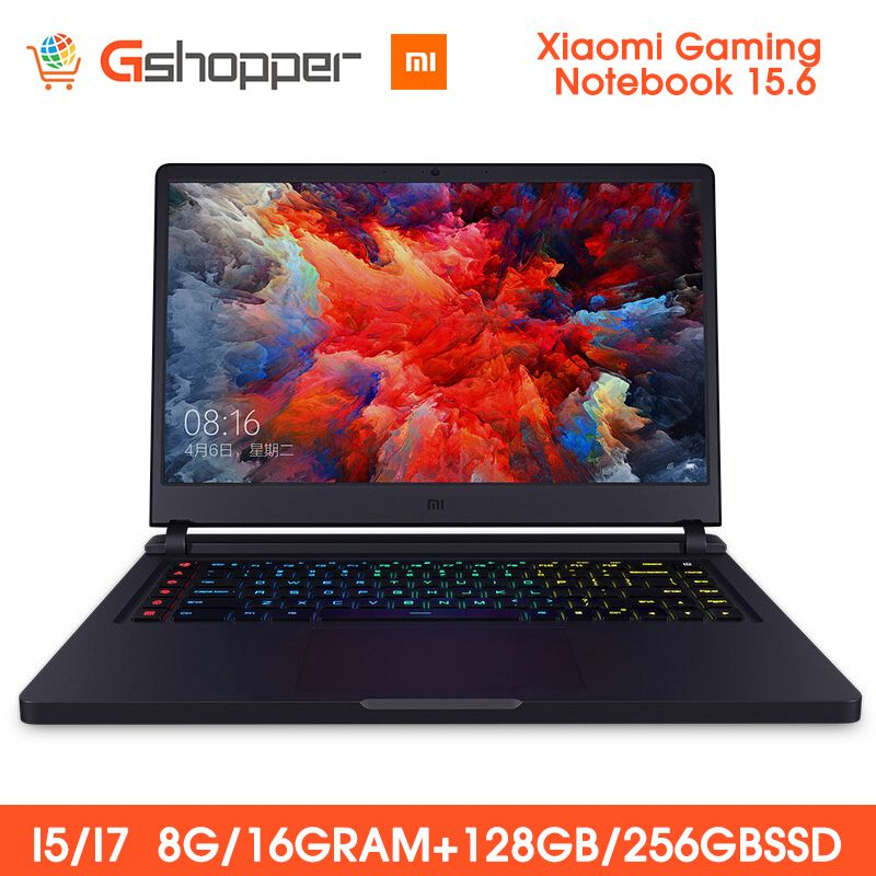 Xiao mi mi Ga mi ng Notebook 15,6 FHD Intel Core 8G/16G 256GB SSD 8GB DDR4 Windows 10 Quad-core NVIDIA GeForce GTX 1060 I7-7700HQ