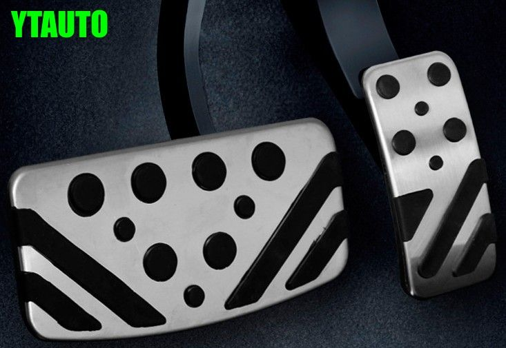 Car gas accelerator and brake pedal for mitsubishi outlander asx, lancer ex,2pc/lot,free shipping