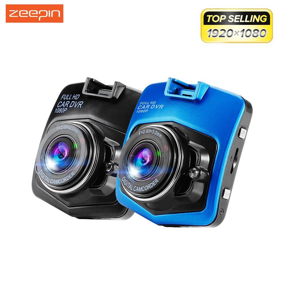 Поддержка Русский язык zeepin мини Видеорегистраторы для автомобилей Камера GT300 видеокамера 1080 P Full HD видео регистратор Регистраторы g-сенсор р...