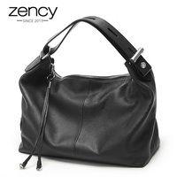 Zency 100% пояса из натуральной кожи OL стиль для женщин сумка модные женские сумки на плечо классическая сумка Crossbody Кошелек