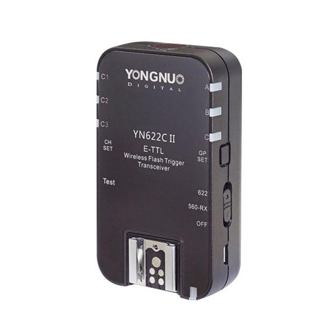YONGNUO один yn622c II RX HSS E-TTL вспышка триггера для Canon Камера Совместимость с yn622c yn560-tx RF-603 II rf-605
