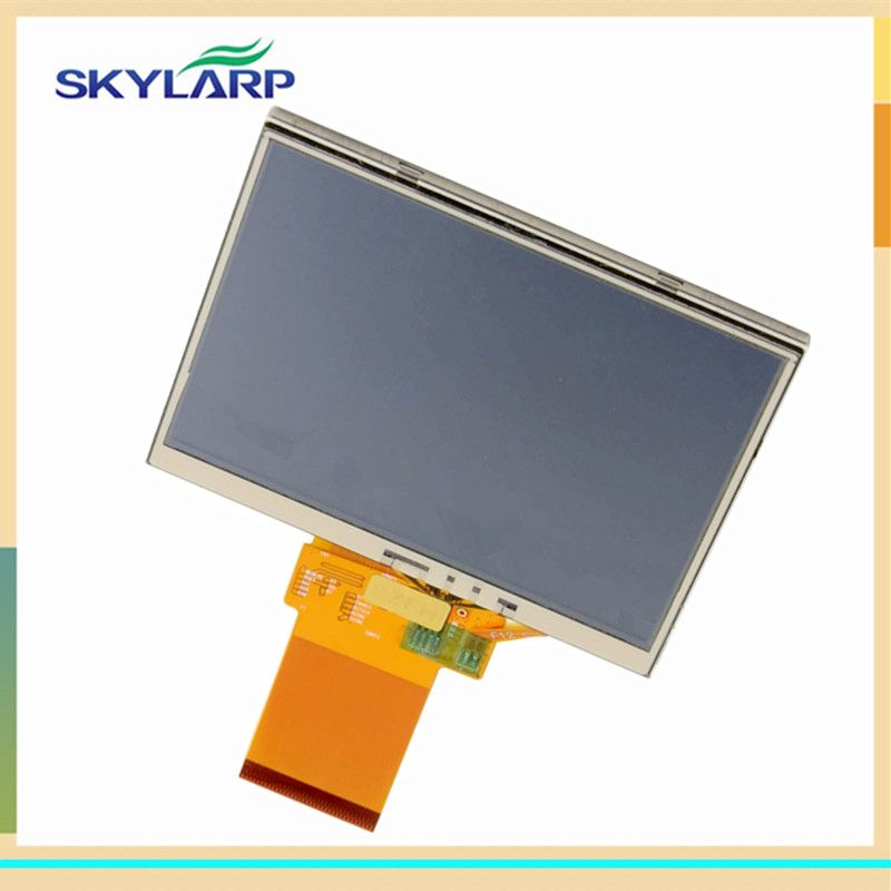 skylarpu 3.5 inch LMS350GF08-005 LCD screen for TomTom One V3 GPS Navigation Display Screen with touch screen digitizer