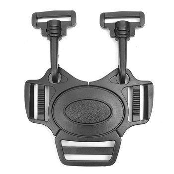 Baby 5-Point Belt Lock Clip Hook Stroller Pram Buggy Safe Harness Strap Buckle Black