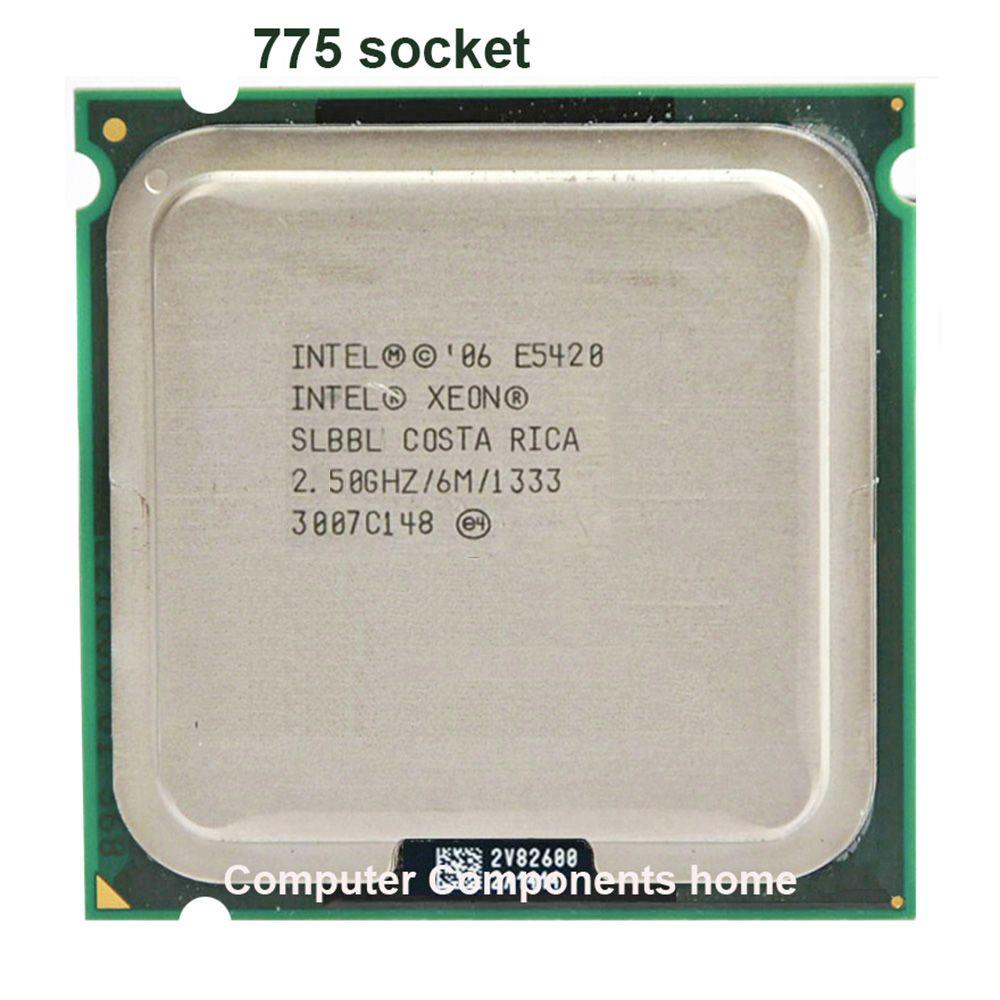 Intel xeon E5420 LGA 775 scoket 771 zu 775 2,5 GHz/12 Mt/1333 Mhz/CPU gleich funktioniert auf 775 motherboard