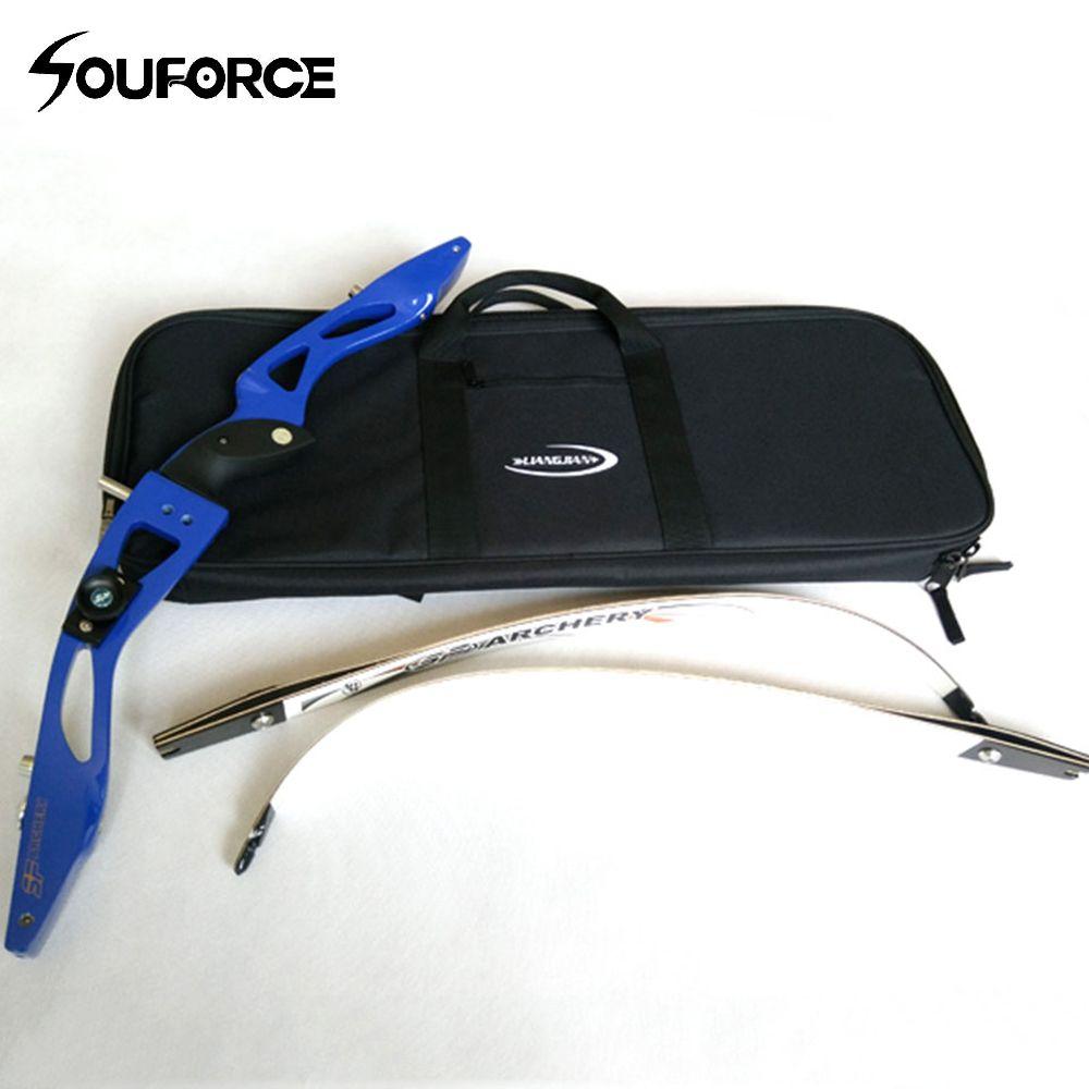 Recurve Bogen Fall für Pfeil und Bogen Griff Transport Wasserdichten Bogenschießen Tasche