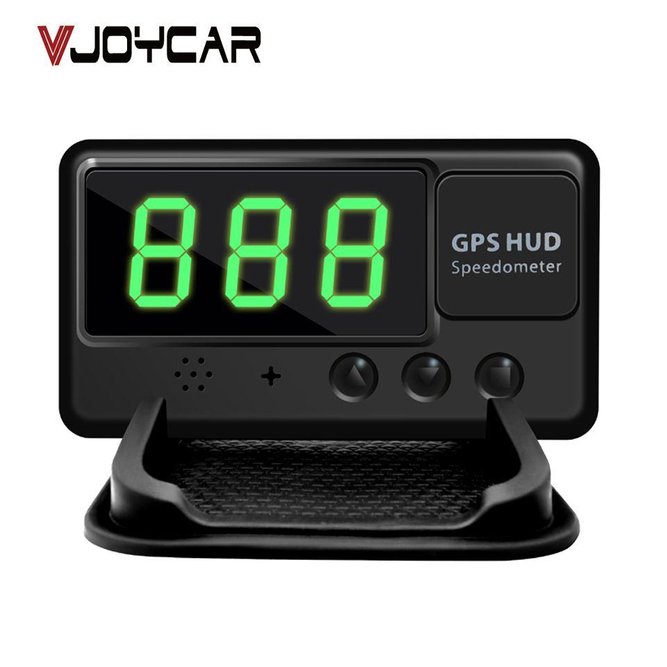 VJOYCAR C60 Universel De Voiture HUD GPS Compteur Head Up Display Pare-Brise Numérique Vitesse Projecteur Alarme De Survitesse Pour Tous Les Véhicules