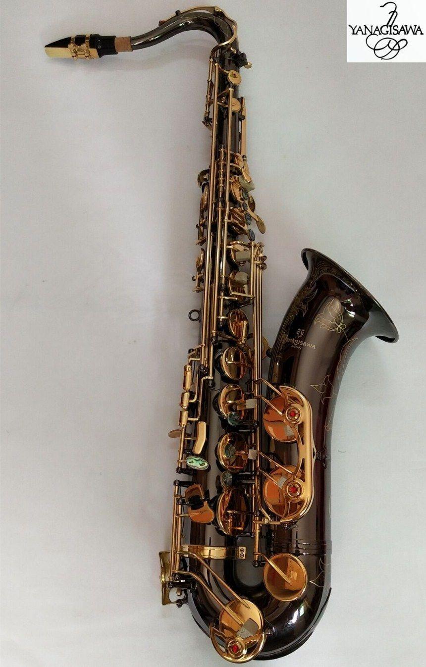 Yanagisawa T-W037 Bb Musical Instrumente Tenor Saxophon schwarz gold saxophon Professionelle leistung Kostenloser Versand