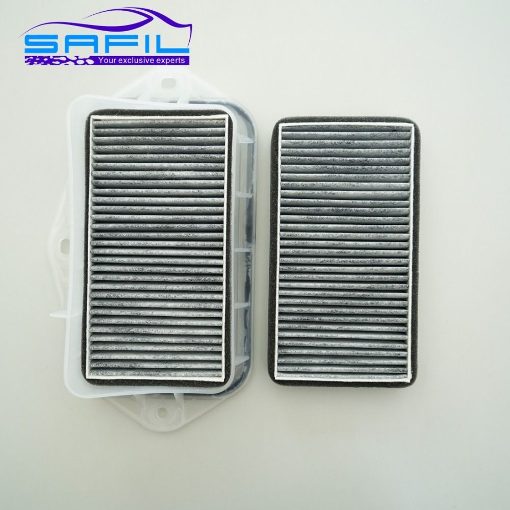 3 holes cabin filter for Vw Sagitar CC Passat Magotan Golf Touran audi Skoda Octavia external air filter #RT100