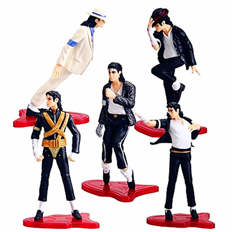 [New] High Quality Michael Jackson The King of Pop PVC Action Figure Collection Toy Gifts for boys or girls