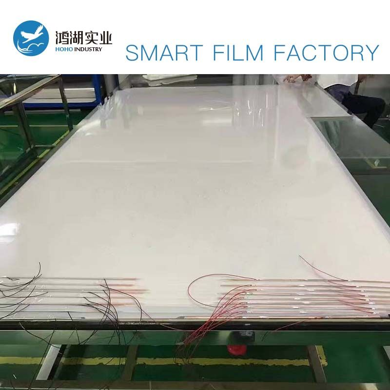 830*1930mm Weiß PDLC Smart Film Glas Umschaltbar Electroc Vinyl + 50 watt Netzteil mit Fernbedienung