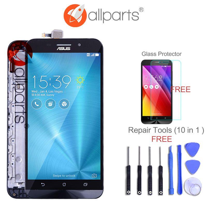 Original For ASUS Zenfone Max LCD Dual SIM 4G LTE Display For ASUS Zenfone Max Display Touch Screen ZC550KL Z010DA