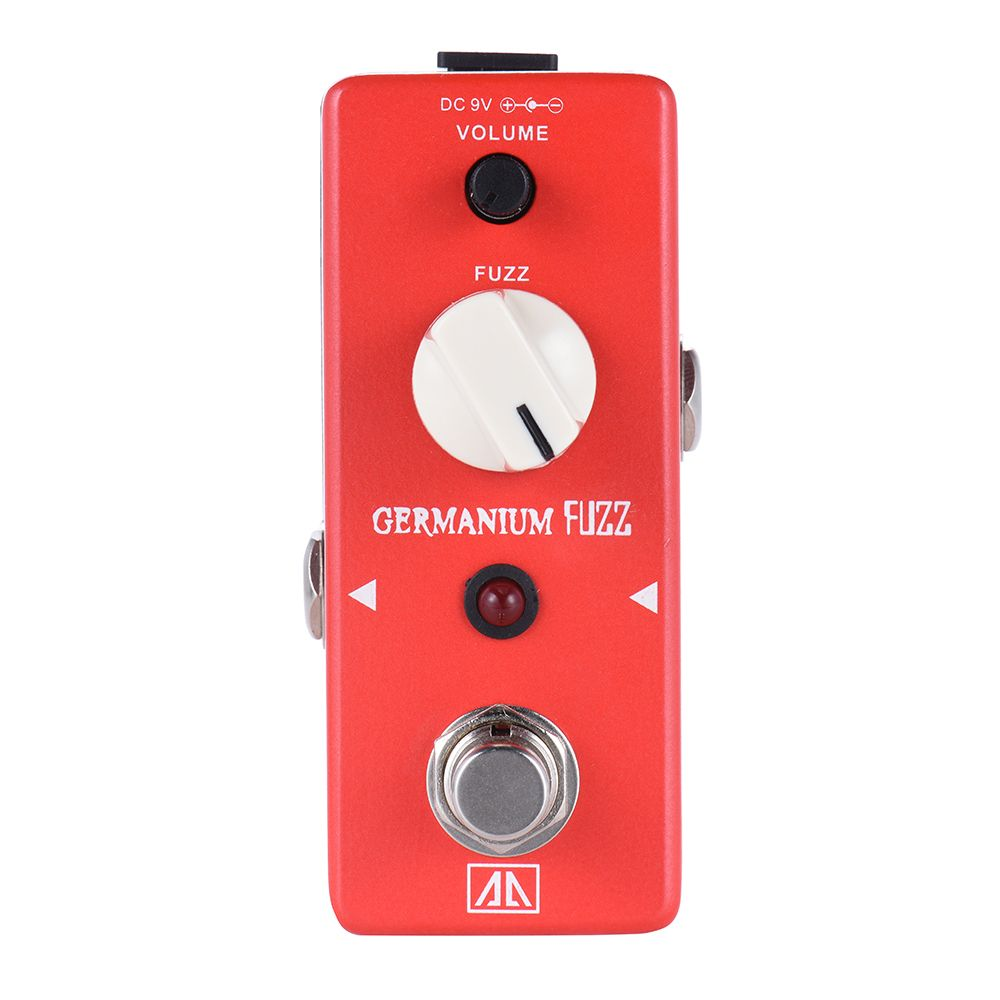 AROMA Classic Germanium Transistor Fuzz AGF-5 Guitar Effect Pedal Aluminum Alloy Body True Bypass