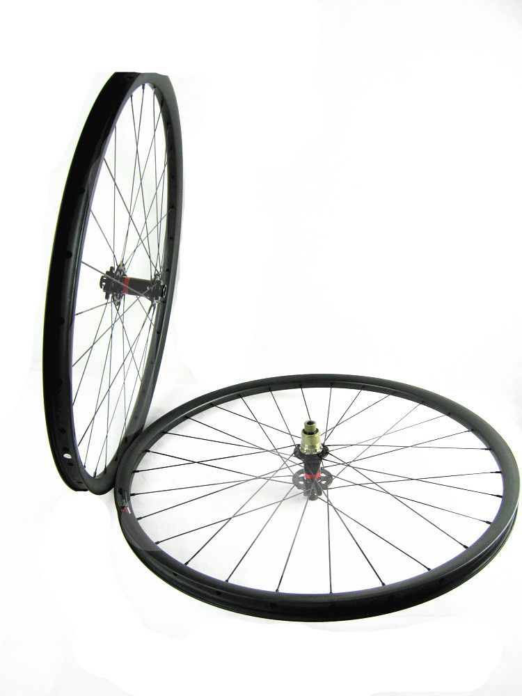 free shipping carbon MTB wheelset 27.5er mtb wheels MTB bike 650B wheels 35mm width Mountain bicycle MTB wheelset UD matte wheel