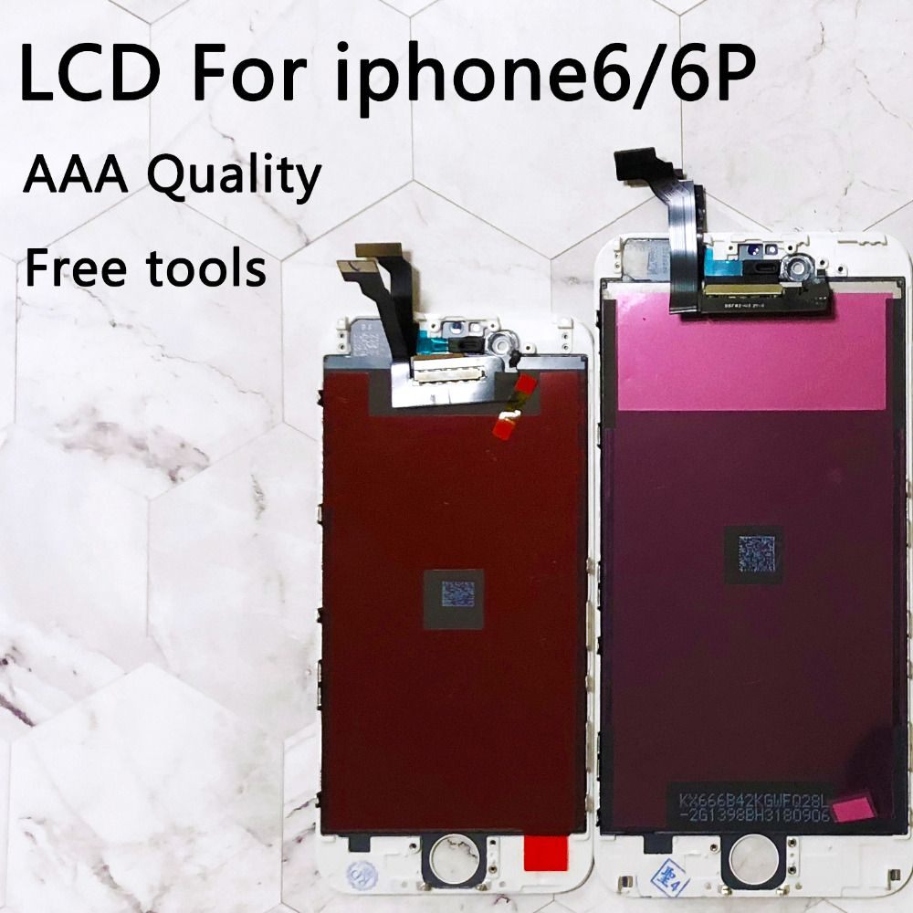 For iPhone 6 LCD Display Touch Screen Digitizer Replacement 5.5 inch AAA Quality No Dead Pixel For iPhone 6 plus LCD Screen 4.7