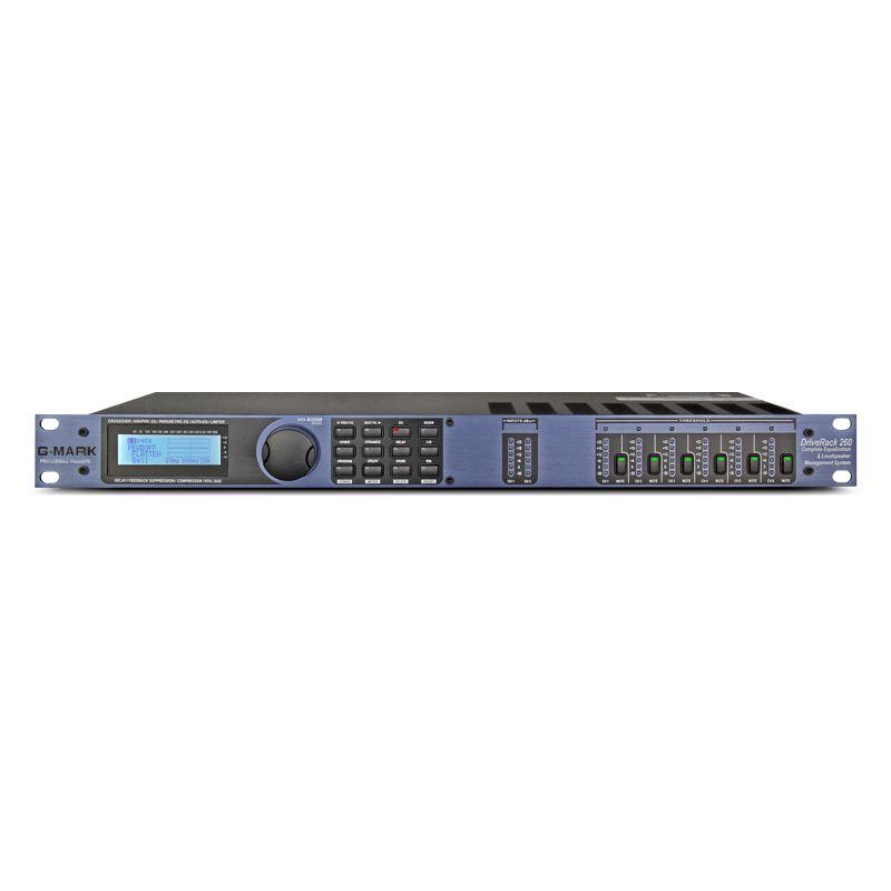 G-MARK 260 Loudspeaker Management System Audio Aignal Processor Digital Professional Sound Console Divider Sound field control