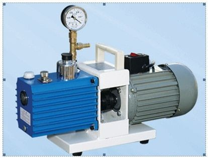 Two Stage Direct Drive Rotary Vane Vacuum Air Pump, Air Pumping Speed 0.25L/S