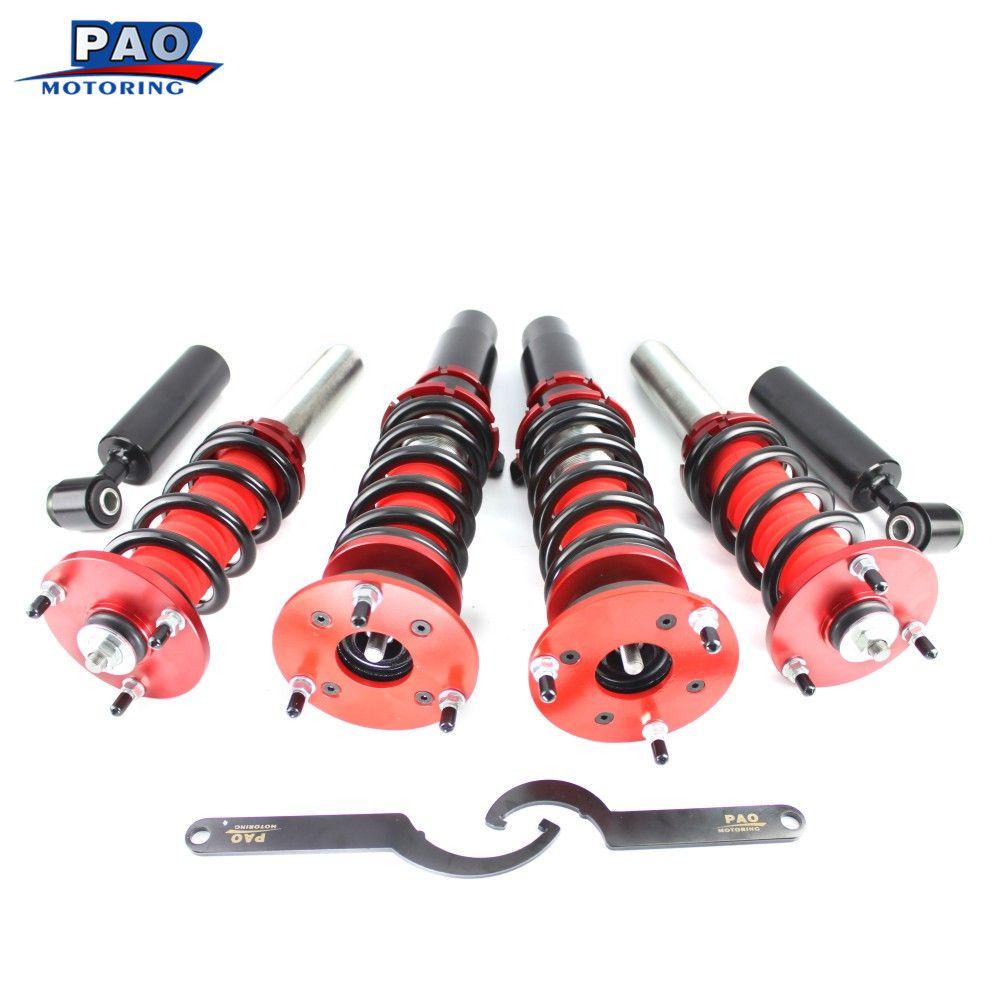 Coilover Spring Strut Absorber Kit For BMW 5 Series E60 Sedan 2004-2010 Non Adjustable Damper Suspension Shock