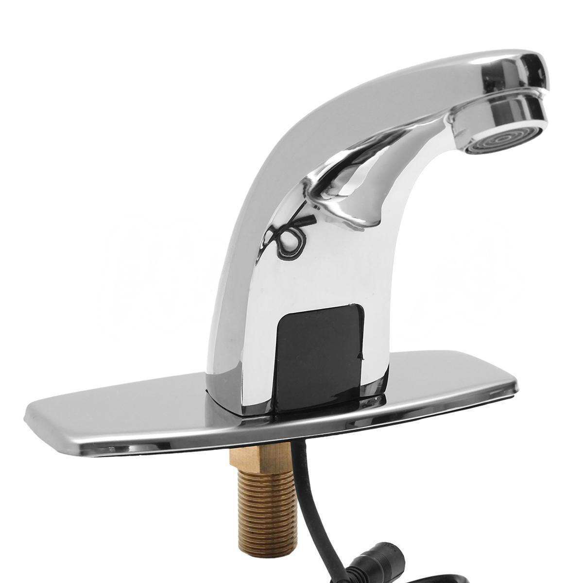 Mayitr Automatische Sensor Waschtischarmaturen Waschbecken Wasserhahn Kaltwasser Wasserhahn Touch Wasserhahn Hands Free Hohe Qualität