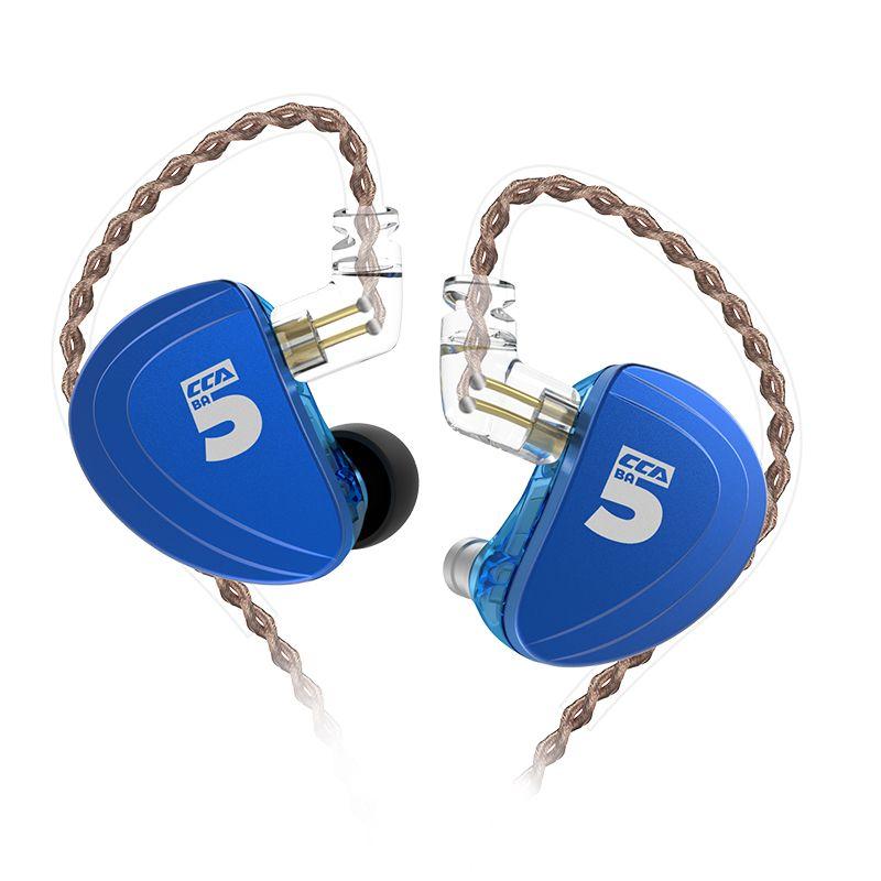 CCA A10 5BA Ausgewogene Anker Fahrer HIFI in Ohr Kopfhörer Headset Ohrhörer Kopfhörer TRN X6 CCA C10/C16