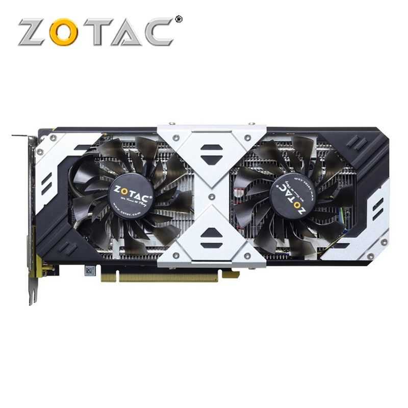 Carte graphique d'origine ZOTAC GTX 960 4 go GPU GeForce GTX960 4 go carte 128Bit PCI-E cartes graphiques pour nVIDIA GM206 4GD5 HDMI