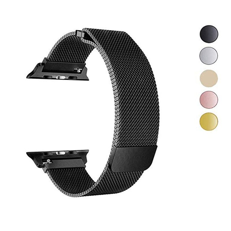 Milanese Loop Bracelet Band For Apple Watch Series 4 40mm 44mm Stainless Steel Strap for iwatch 3 Bands series 2/1 38mm 42mm