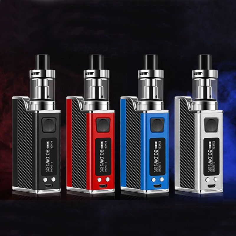 E-XY 150W Vape Box Kits 510 Vape Electronic Cigarette Temperature Control 1500mAh Battery SUB RBA Tank