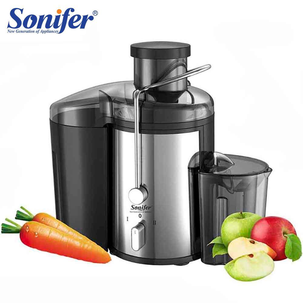 Machine à boire électrique de Fruit d'extracteur de jus de 2 vitesses d'acier inoxydable de 220 V pour la maison Sonifer