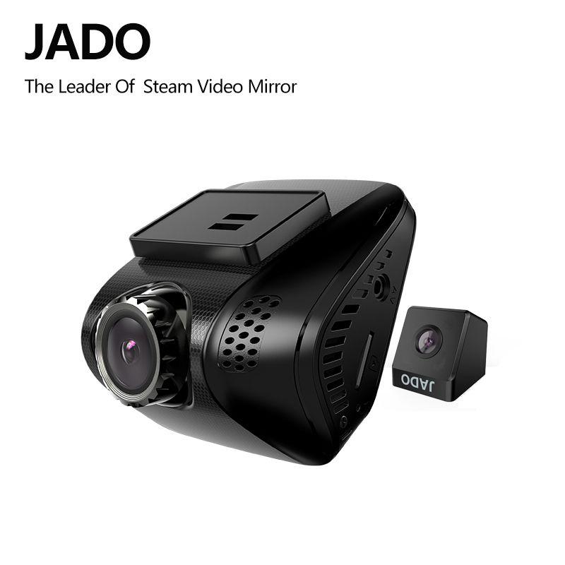 JADO D770S 2.0 Voiture Dvr Full HD 1080 P Mini Voiture Dvr avec deux caméras Vidéo Enregistreur 140 degrés Voiture Caméra Greffier Dash cam