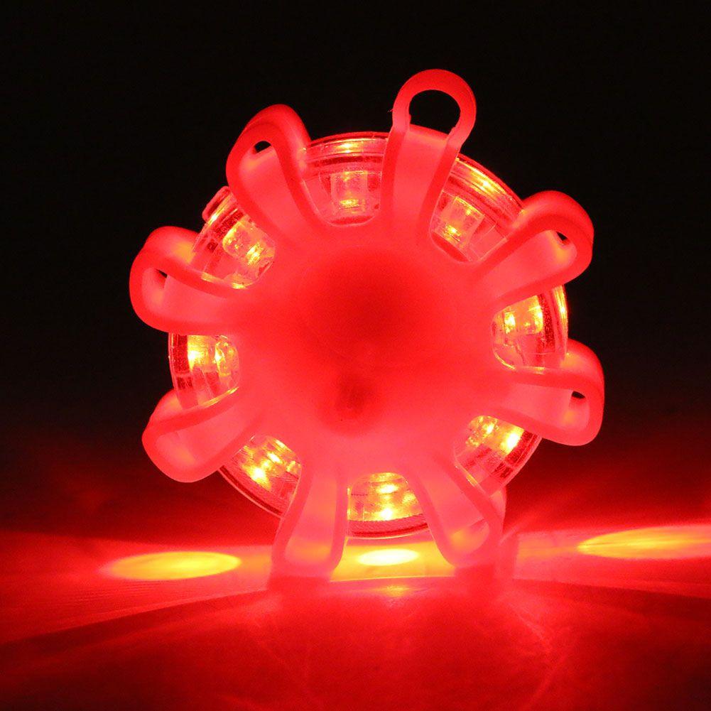 Coquimbo LED Road Flare Red LED Safety Flare Flashlight Magnet Flashing Warning Night Lights Roadside Emergency Flares For Car