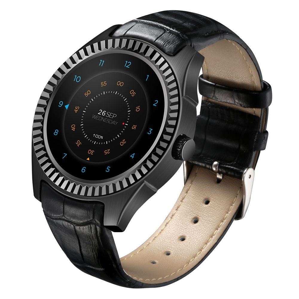 DTNO.I D7 Smart Watch Android 4.4 500mAh SIM GPS WIFI 3G Smartwatches Bluetooth 4.0 Pulse Monitor Wearable Clock Bracelet