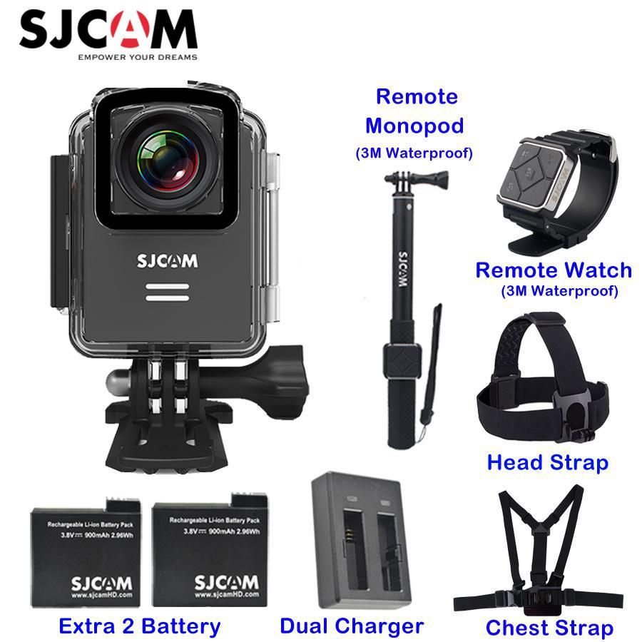 Original SJCAM M20 1.5'' Screen Wifi NTK96660 30M Waterproof Gyro Support Remote Sports Action Camera Car Mini DVR