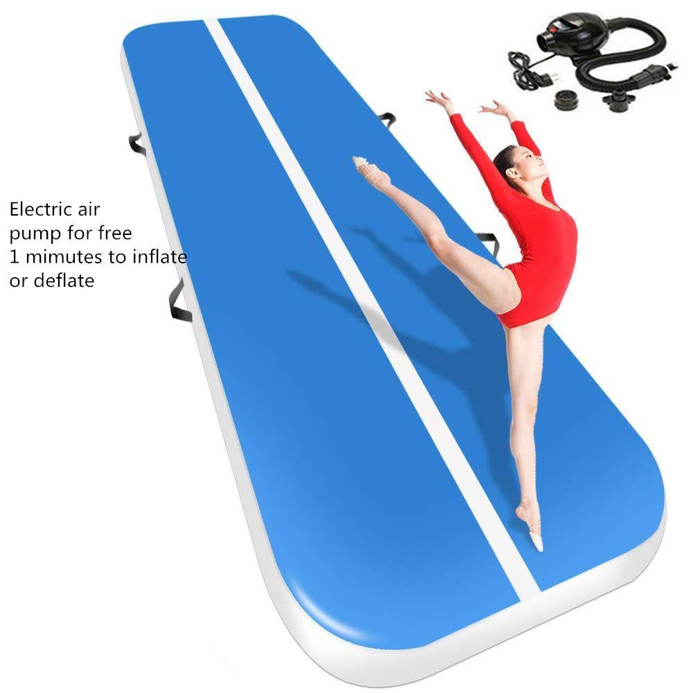 2019 neue Airtrack 4*1*0,2 m Aufblasbare Luft Wäschetrockner Track Olympischen Gym Matte Yoga Aufblasbare Luft Gym air Track Zu Hause verwenden Kostenloser Versand