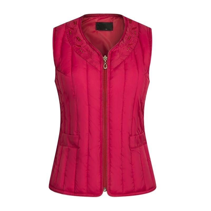 2017 Down Vest Women Outerwear Autumn Winter Women's Vest Sleeveless Cotton Waistcoat Jacket Warm Windproof  Female Tops