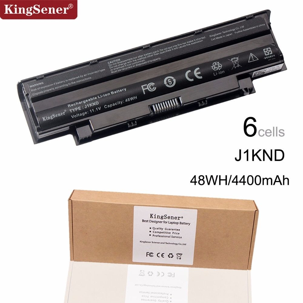 KingSener Laptop Battery J1KND for DELL Inspiron N4010 N3010 N3110 N4050 N4110 N5010 N5010D N5110 N7010 N7110 M501 M501R M511R