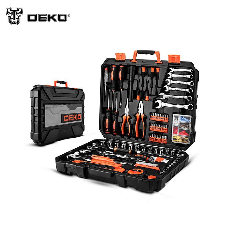 Werkzeuge Set DEKOPRO DKMT208 (208 stücke) Schlüssel Hand Set von Werkzeug Box Toolset